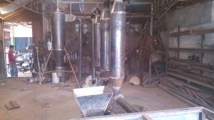 Pengering Serbuk Gergaji, Tepung, ampas kelapa dlln