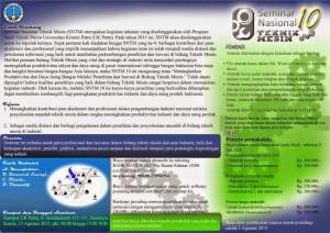 Seminar Nasional Teknik Mesin