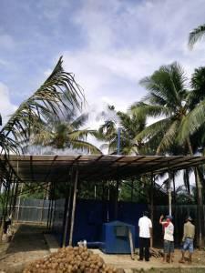 Oven Kopra Tungku biomassa